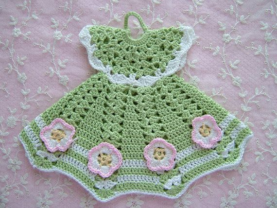 vintage crocheted pot holders                                                                                                                                                      Mais