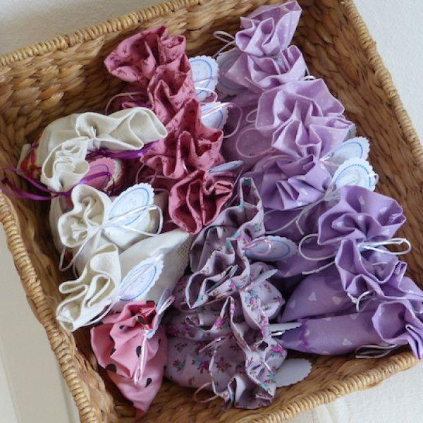 Lavendelsäckchen, gefüllt mit Lavendel aus dem Hausgarten von Cheeky Bird