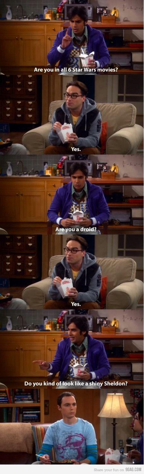 LMAO! A shiny Sheldon :P