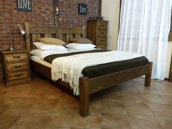 Borovicová postel Rustyk / Mieszko II 160