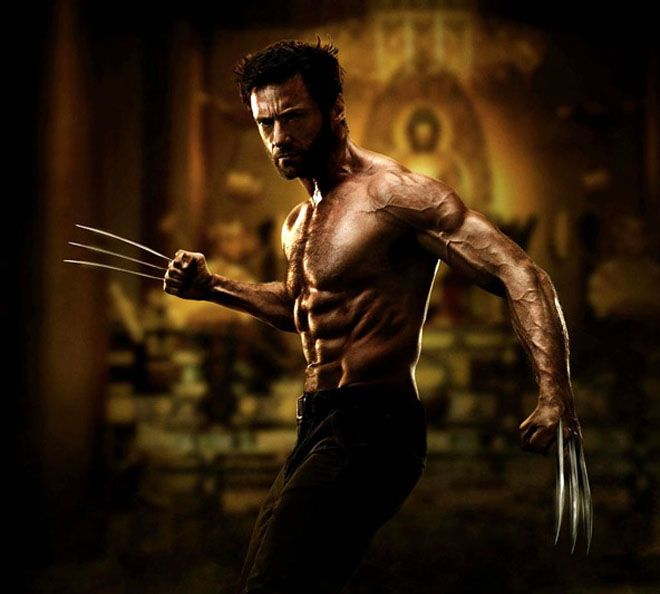 wolverine | Hugh Jackman Flexes Claws in First Wolverine Movie Shot | Underwire ...