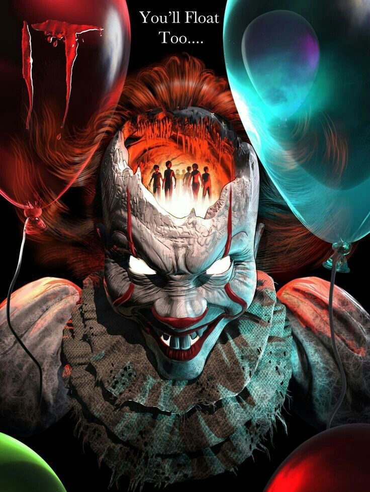 Pin by Anonymous226 on Pennywise in 2020 Horror movie