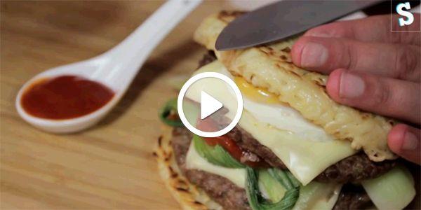 Recette Ramen Burger