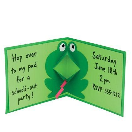 Funny Frog (Let's Make Cards)