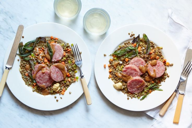 ... lentils with cotechino and fried sage cotechino sausage and lentils