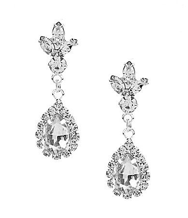 Cezanne Princess Accent Drop Earrings #Dillards