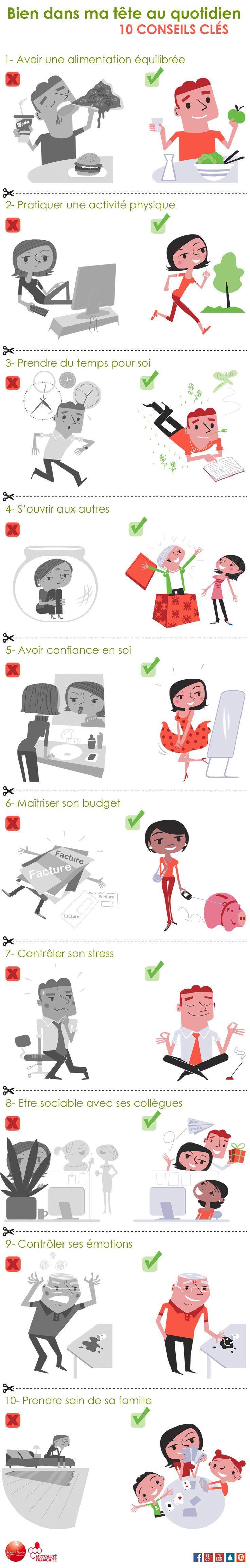10 conseils pour être bien dans ma tête