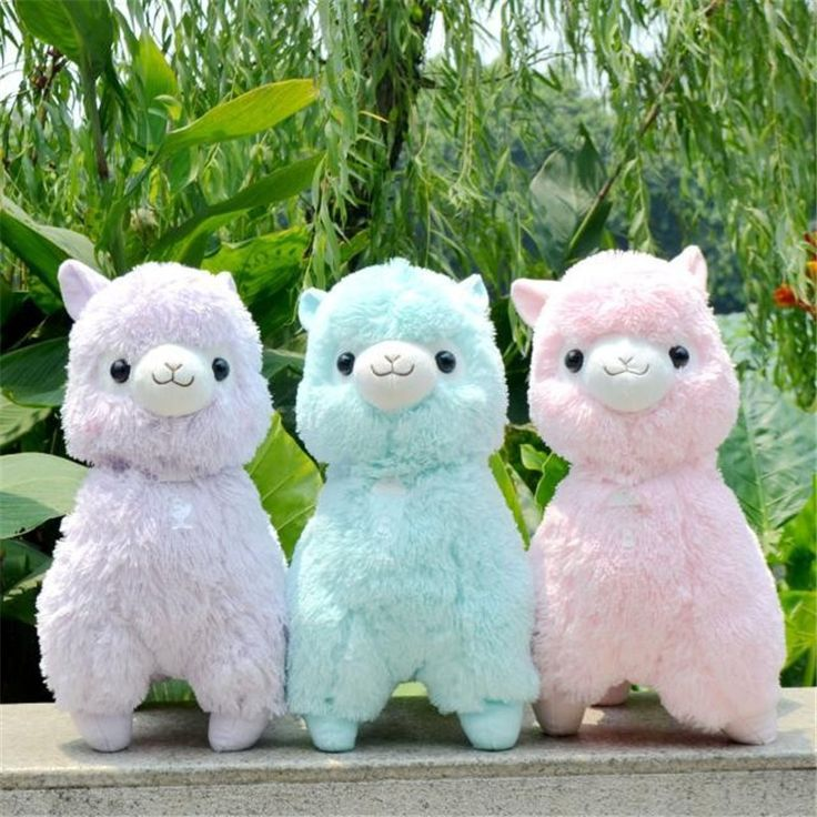 45cm Japanese Alpacasso Soft Toys Doll Giant Stuffed Animals Lama Toy 5 Colors Kawaii Alpaca Plush Kids Christmas Gift L101-in Stuffed & Plush Animals from Toys & Hobbies on Aliexpress.com | Alibaba Group