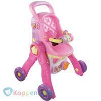 Poppenwagen 3 in 1 Little Love Vtech - Koppen.com Poppenwagen 3 in 1 Little Love Vtech. 3 in 1: verander eenvoudig in een poppenwagen, eetstoeltje of bedje! Leer letters, tellen, kleuren, dieren en meer. Plaats je pop en luister naar leuke rijmpjes, gezongen liedjes en vrolijke zinnetjes. - See more at: http://www.koppen.com/producten/product/poppenwagen-3-in-1-little-love-vtech#sthash.94UkR7wt.dpuf