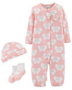 e6e6db476b 3-Piece Babysoft Take-Me-Home Set Roupa Fofa De Bebê
