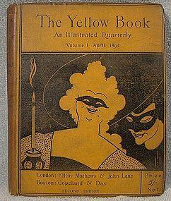 AUBREY BEARDSLEY THE YELLOW BOOK - 3 Volumes