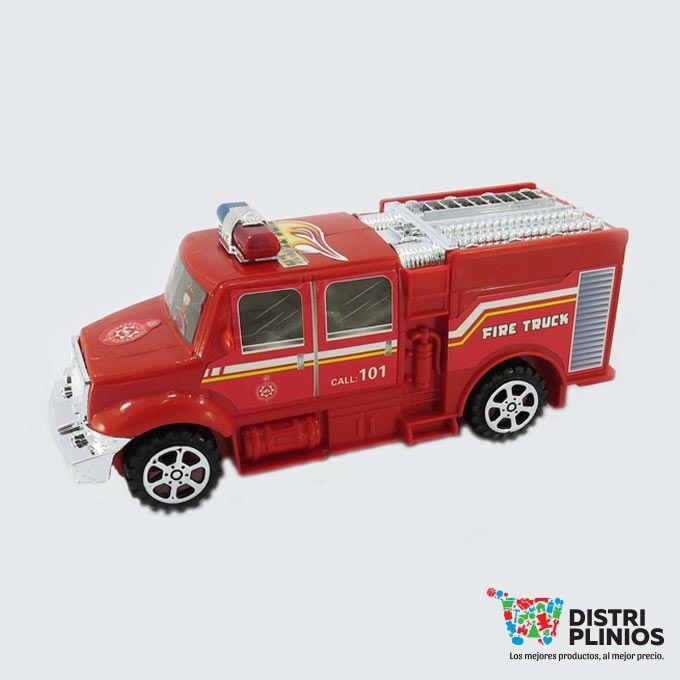 Divertido carro de bomberos se vende mínimo 6 unidades ideal para regalar. Medidas Alto 7 cms Largo: 19 cms ancho: 7.5 cms. Los precios de nuestro sitio web son al por mayor, el costo de los productos se incrementa en compras por unidad, cualquier inquietud comuníquese al 320 3083208 o al 3423674 o visítenos en la Calle 12 B # 8a – 03 Centro, Bogotá, Colombia.