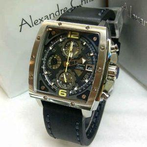 Alexandre Christie AC 6376 Silver Black