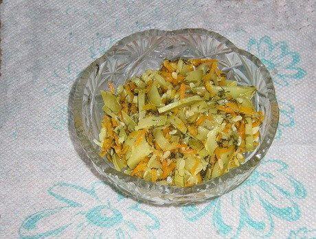 кабачковый салат, рецепты, рецепты салатов, салат +из жареных кабачков, салат +из кабачков рецепт, салат +из свежих кабачков, салат из кабач...