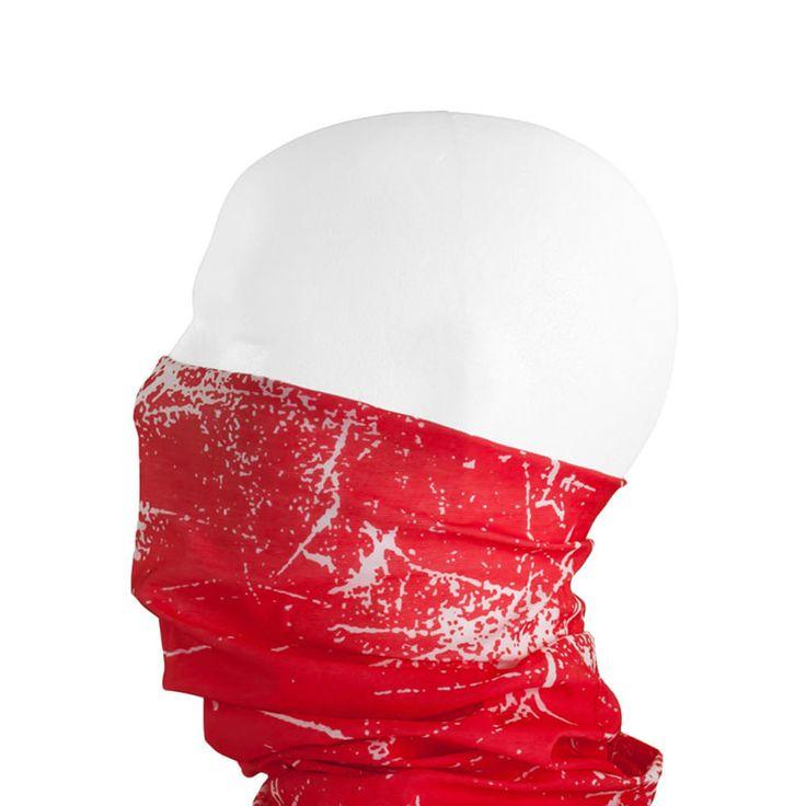 Multifunktionstuch / Schlauchtuch / Halstuch - Red Splatter in Bekleidung Accessoire  • Schals & Tücher • Multifunktionstücher