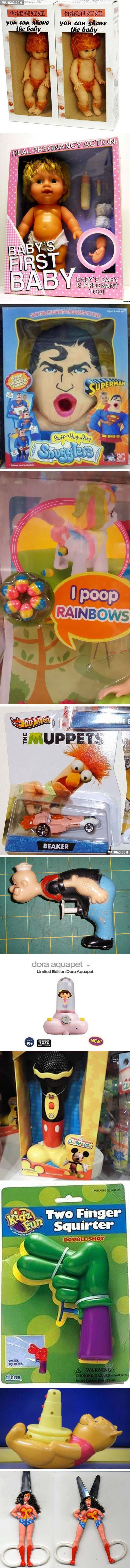 Kid Toys Which Are So Sexually Inappropriate That They Make Even Adults Feel Uncomfortable