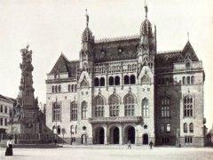 Pénzügyminisztérium épülete a Várban 1909 - Forrás: egykor.hu