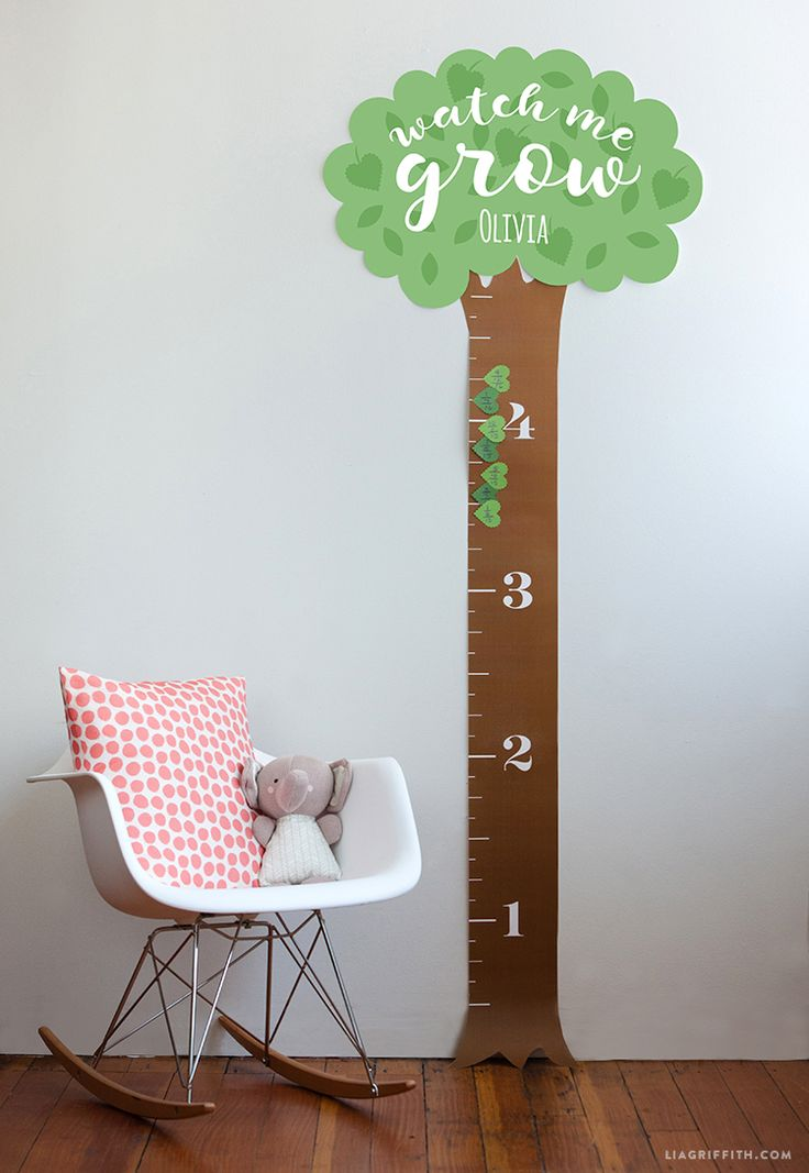 Printable Height Chart For Kids Growth Chart Ruler Grow
