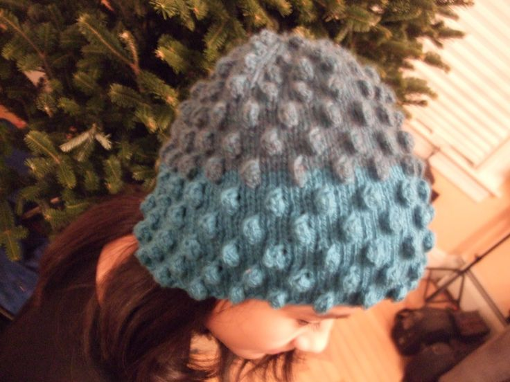 Free Knitting Pattern - Hats: Bobble Hat Hats for Kids Pinterest Free p...