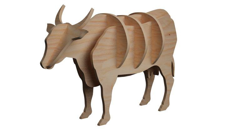Farm Cow Mini Puzzle