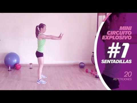 Circuito explosivo para tonificar cuerpo entero - Fitness en Femenino