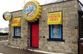 YUM! LA franks banana shake & hot dog = summertime delight