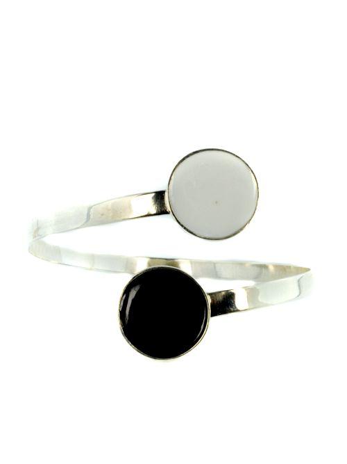 Bracelet With Cold Enamel