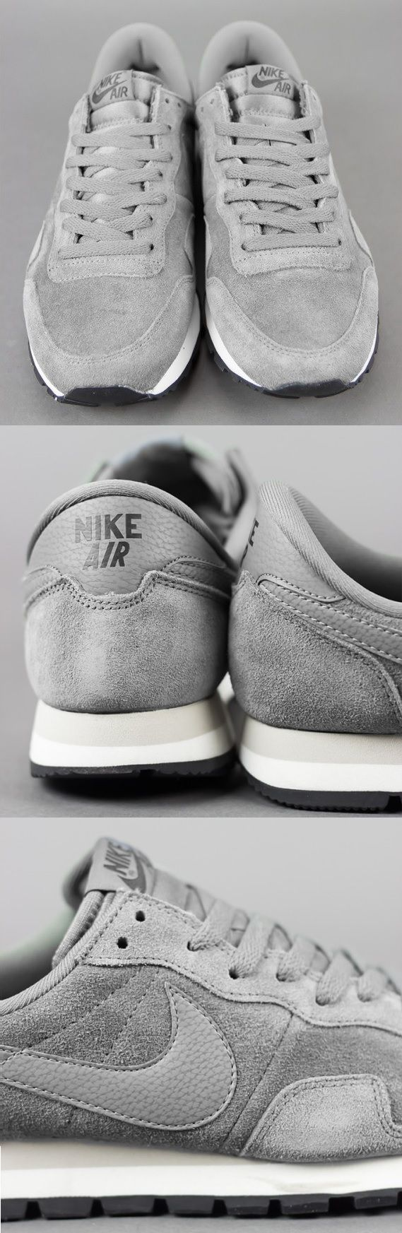 All grey everything: Nike Air Pegasus 83 Mercury Grey | Raddest Men's Fashion Looks On The Internet: http://www.raddestlooks.org