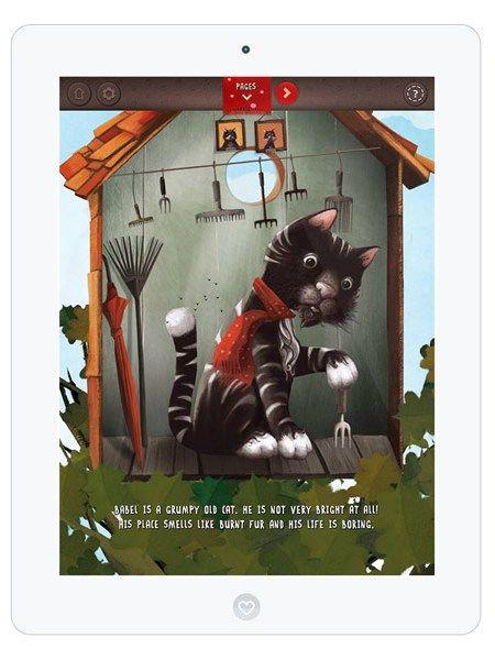 """Eine märchenhafte und interaktive Kinderbuch-App für Kinder: """"Babel, the King"""""""