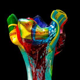 The Art and Soul of Color, a collaborative exhibit with glass artist Suzanne Wallace Mears and mixed media painter Stephanie Paige opens THIS Friday, June 19th 5-7pm. Click the image to check out a special show preview on our blog. #summerofcolor #abstractart #artopening♥♥