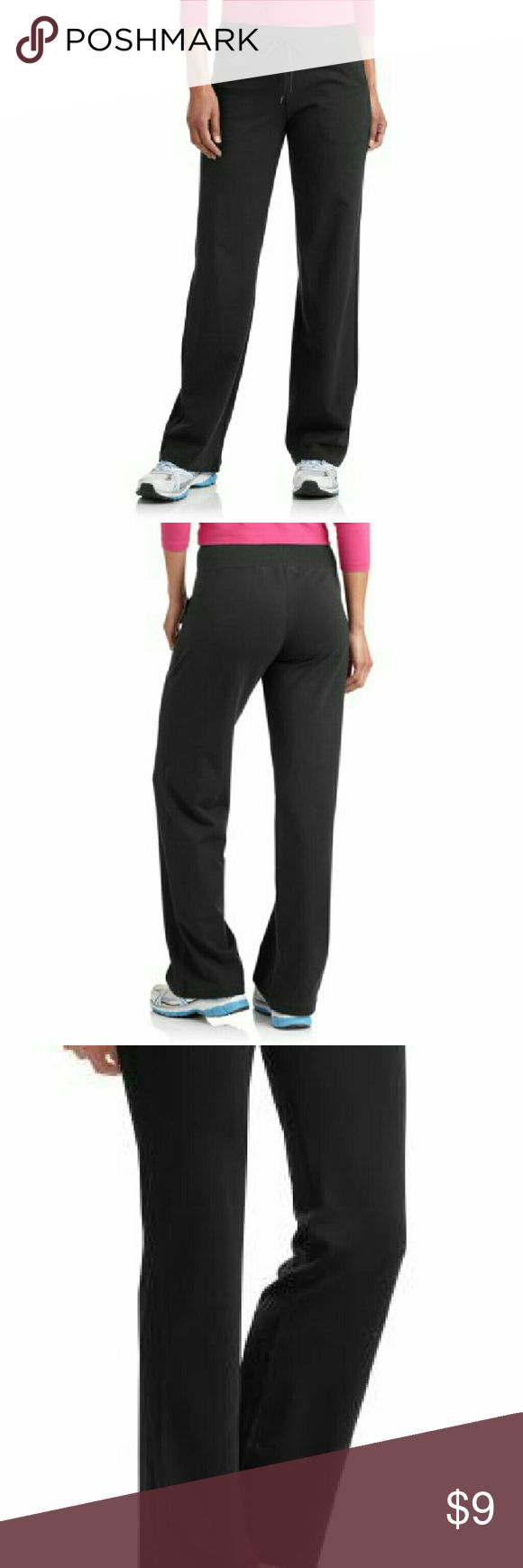 """Black C9 Pants *C9 by Champion Black Pants.  *These Soft Yet Stretchy Pants Fit & Flatter Your  Curves While Providing an Easy to Adjust Drawstring Waistband You can Easily Throw on & Dash out the Door.  *Women's Size Extra Small *True to Size.  *Body: 80% Cotton 20% Polyester. *Rib Trim: 95% Cotton 5% Spandex.  *Length 36"""" *Waist 15.5"""" *In-Seam 30"""".  *No Discoloration *No Tears *No Stains.  *OFFERS WELCOME *TRADE ALSO. Champion Pants Track Pants & Joggers"""