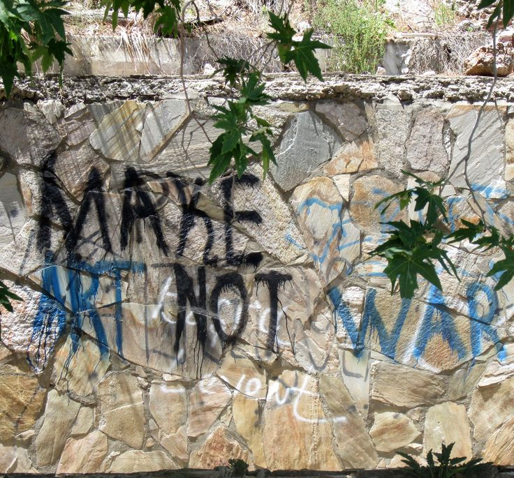 Make art not war, Alanya  Photo Aili Alaiso Finland