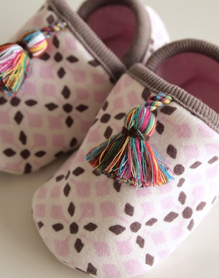 baby slippers - BOBO (ahhh! BP definitely needs these! they are completely adorable)