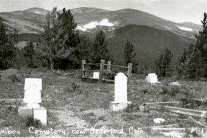 Caribou cimitero città fantasma Colorado