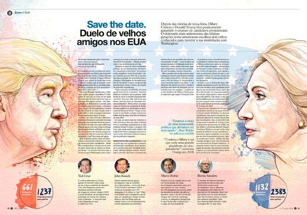 Jornal i- Eleições EUA on Behance