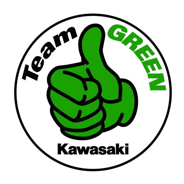 kawasaki team green logo 2014������8���������������