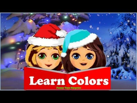 Learn Colors Frozen Dolls Elsa Anna Talking Toys Cartoon Animation Kids Funny Toyo Surprise SLIME - YouTube