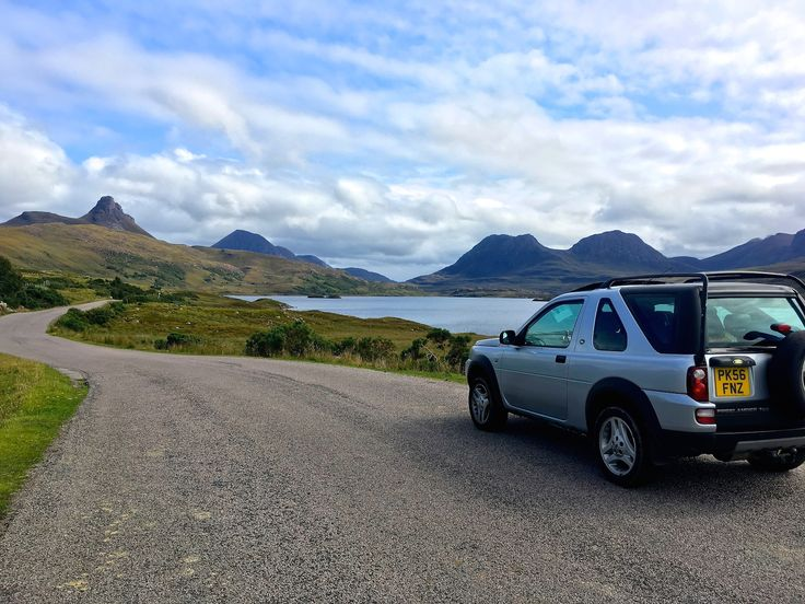 The road to The Summer Isles on the North Coast 500 in Scotland. Read my blog!