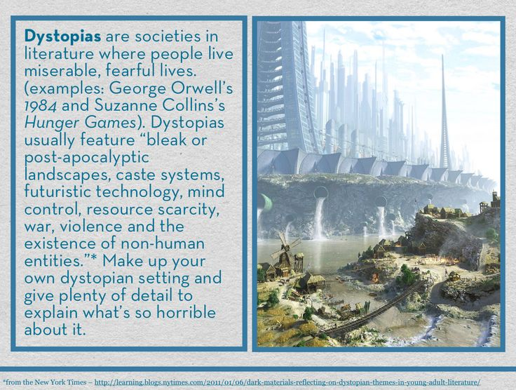 Utopian and dystopian fiction