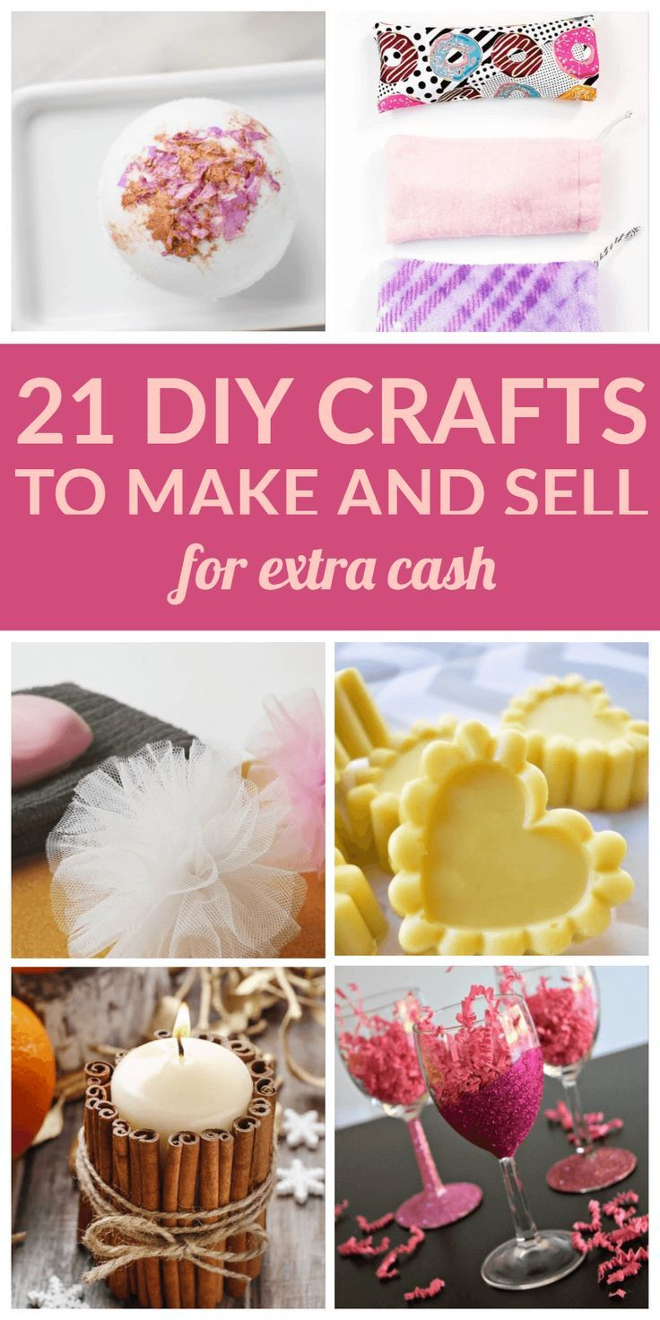 21 Diy Crafts To Make And Sell For Extra Cash Crafts To Make