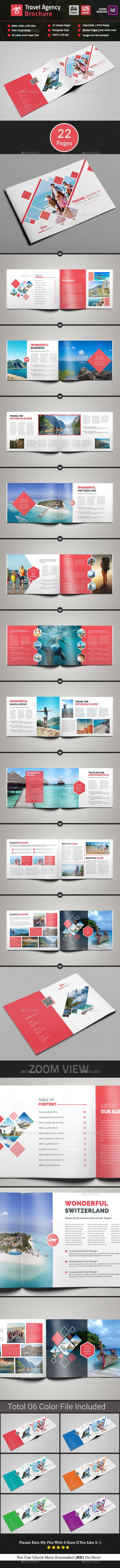 #Travel #Agency #Brochure #Catalog - #Corporate #Brochures Download here: https://graphicriver.net/item/travel-agency-brochure-catalog/16888657?ref=alena994