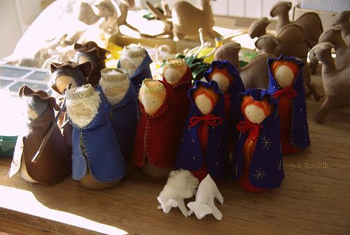 tutorial how to make nature table dolls