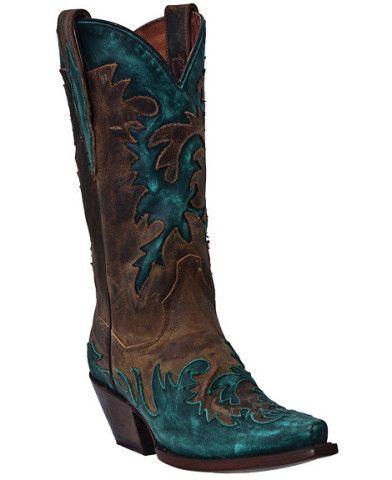 Dan Post Amy Wingtip Cowgirl Boots - Snip Toe - Sheplers
