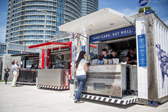 Repurposed Shipping Containers | New shipping container market comes to Harbourfront