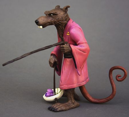 Master Splinter (Teenage Mutant Ninja Turtles) Custom Action Figure