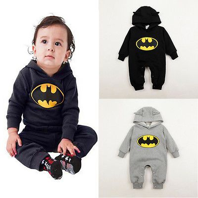 >> Click to Buy << 2016 Hot Cute Newborn Baby Infant Boy Clothes Batman Romper Outfits One-pieces 3-24 Months 2 Colors #Affiliate