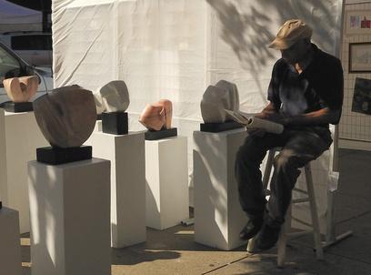 Washington Square Fall 2011 Outdoor Art Exhibit #september #washington #labordayweekend #platinumstylemag #magazine #art #exhibit