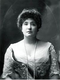 1927 ♦ April 18 - Nellie Melba, Australian operatic soprano. She became one of the most famous singers of the late Victorian era and the early 20th century.