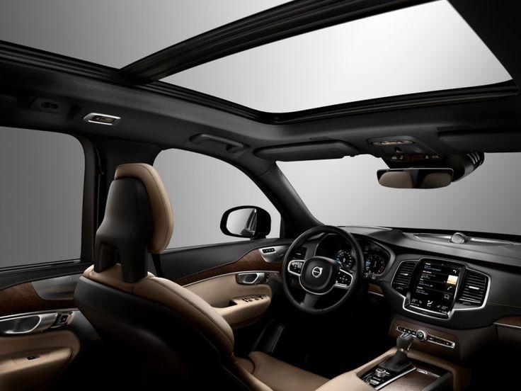 New Volvo XC90 2014 interior