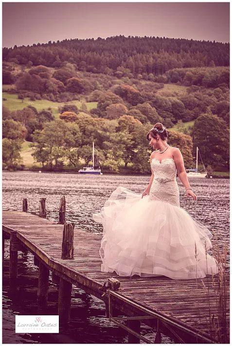 Lakeside Hotel Wedding Windermere Lorraine Oates Lake District Cumbria